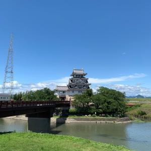 墨俣城 〜太閤出世橋と模擬天守〜
