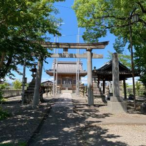 墨俣城 〜白鬚神社〜