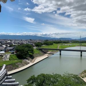 墨俣城 〜模擬天守から望む〜