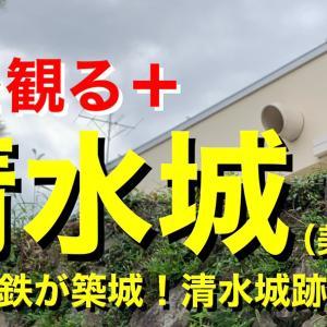 【城を観る+】《清水城(美濃国)》2021 〜稲葉一鉄が築城!清水城跡を観る〜