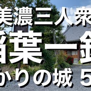 【ゆかり城】西美濃三人衆《稲葉一鉄(稲葉良通)》〜ゆかりの城 5選〜