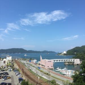 鳥羽城(志摩国)〜城山公園から望む〜