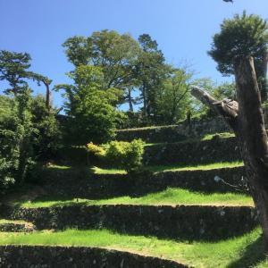 鳥羽城(志摩国)〜三ノ丸から本丸を望む〜