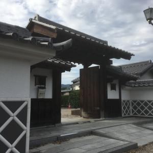 和知城(稲葉城)〜薬医門〜