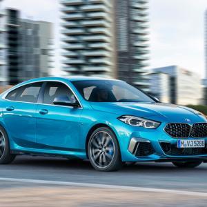 日本市場向き?BMW新型「2シリーズ グラン クーペ」発表