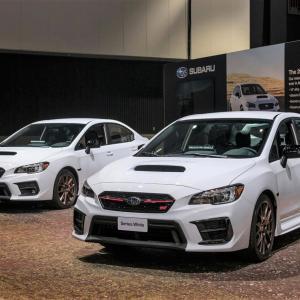 北米スバル、2020年型 WRX STI / WRX「シリーズホワイト(Series.White)」初公開