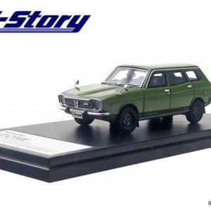 「Hi Story 1/43 スバル レオーネ エステートバン 4WD」1月発売