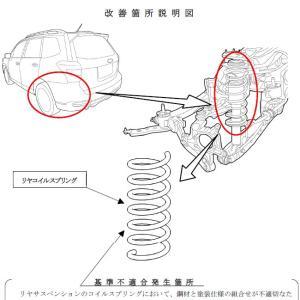 スバル、リアコイルスプリングなどの不具合で「フォレスター」「XV」をリコール