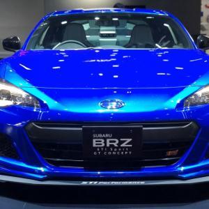 「SUBARU BRZ STI Sport GT コンセプト」の詳細と動画