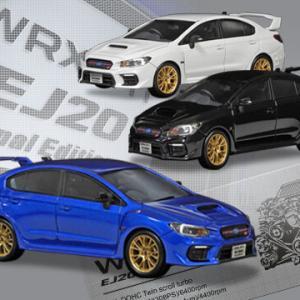 特別仕様車「WRX STI EJ20 Final Edition」のミニカー&ステッカー発売