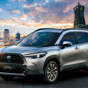日本導入は?トヨタ新型コンパクトSUV「カローラ クロス」世界初公開