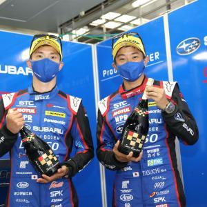 SUPER GT第2戦、「SUBARU BRZ GT300」は2位表彰台を獲得