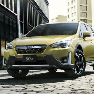 SUVらしい新エクステリアを採用、「SUBARU XV」大幅改良モデル発表