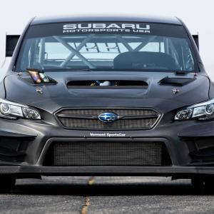 スバル・モータースポーツUSA、最強のジムカーナ用「WRX STI」を公開