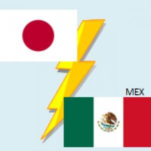 日本代表、後半何も出来ず敗れる。 日本0-2メキシコ。