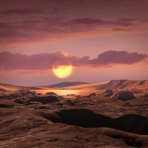 太陽系外に地球サイズの惑星発見