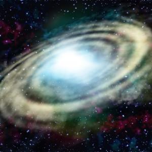 100億年前に別の銀河と衝突・合体してできた天の川銀河