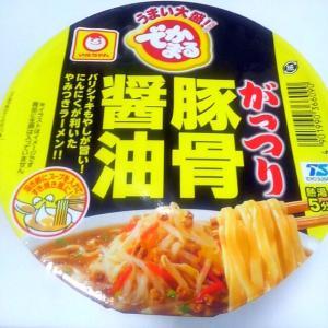 マルちゃん(東洋水産)でかまる がっつり豚骨醤油