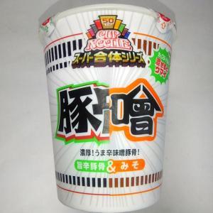 日清 カップヌードル スーパー合体シリーズ 味噌&旨辛豚骨