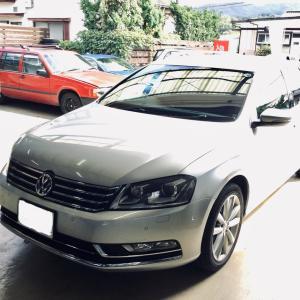VWパサート エンジンチェックランプ点灯~エンジン不調