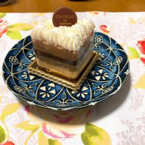 糖質オフのクロワッサンとティラミスケーキ(2020.9.13 ライザップ生活1453日目)