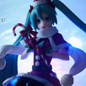 初音ミクシリーズ スーパープレミアムフィギュア 初音ミク クリスマス2018 レビュー(セガプライズ)