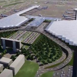マンモスの化石200頭とラクダと馬の化石見つかる新国際空港