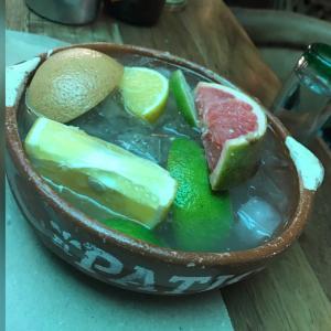 Casuelita con Tequila(EL PATIO)