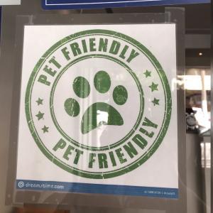 PET FRIENDLYのマーク/愛犬のおやつ