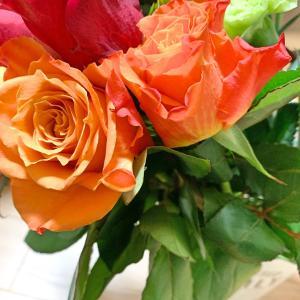 明日のお花は♩