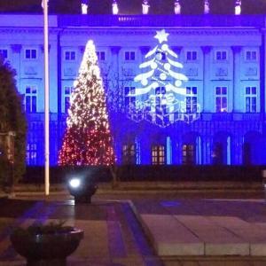 ワルシャワ〜クリスマスイルミネーション