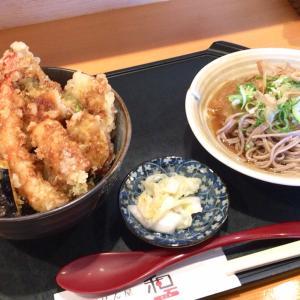 福井市「ごはん屋 和」住宅地内にあるハイレベル定食屋さんにて激うま天丼を食す