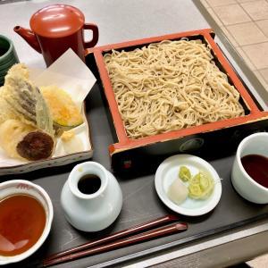 白山市「手打ちそば処 しば野」@こんなところに絶品蕎麦!天ぷらもサックサクで美味っ♪