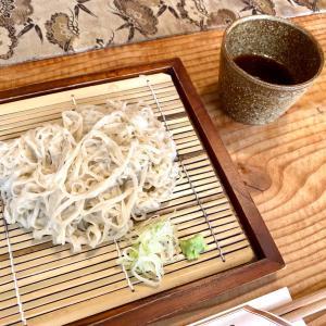 能美市「手打ちそば山崎」@こんなところに絶品蕎麦屋!?天ぷらも副菜も◎