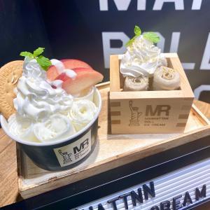 クロスゲート金沢「MANHATTAN ROLL」@見て楽しい!マンハッタン発のくるくるアイス♪
