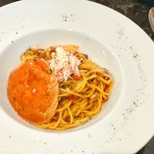金沢市『NewyorkNewyork』@片町で手軽に♪香箱蟹のトマトパスタ