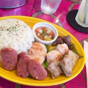 福井市「CAFE52」@福井でブラジル旅行気分♪ブラジル料理シュラスコランチ