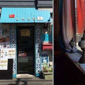 トルコ料理ラーレのキョフテ(ラム肉ハンバーグ)