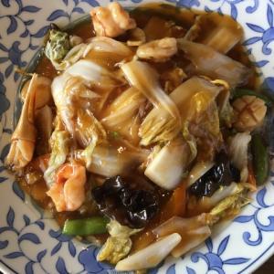 豊楽園 酢豚と餃子と広東麺