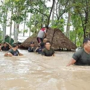 カンボジア洪水