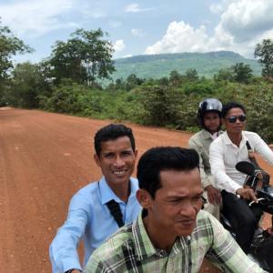 カンボジア 友人たちと アドベンチャーしてきました
