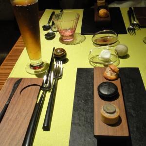 """長島町へのふるさと納税で、""""モノリス""""のディナーをいただきました。②"""