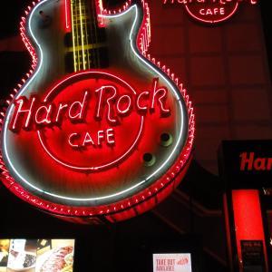 Hard Rock Cafe東京には結構お客様が戻ってきてました。