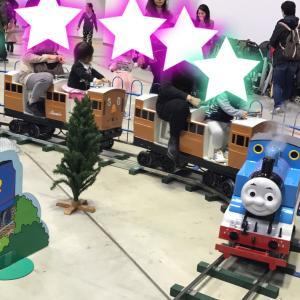 機関車トーマスのイベントと、休日の夜ごはん・やきとり屋ママさん♪
