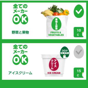 野菜果物で10円分、アイスクリームで15円分のキャッシュバック!CASHb