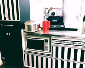 我が家の冷蔵庫。