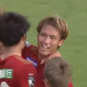 [金沢]ピッチで全部出してこい! DF山本義道が2戦連続 劇的決勝ゴール!! 今季3得点目!