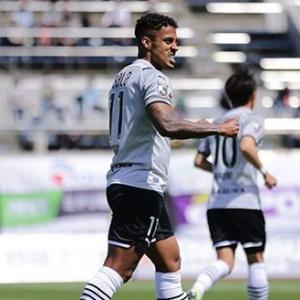 【ジュビロ磐田】FWルキアンがヘッドで2ゴール‼ 2017年以来の3連勝で4位浮上‼