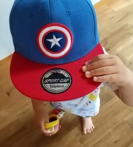 *2歳 キャプテンアメリカ キャップ