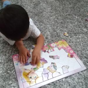 *3歳 長男 パズルブーム到来